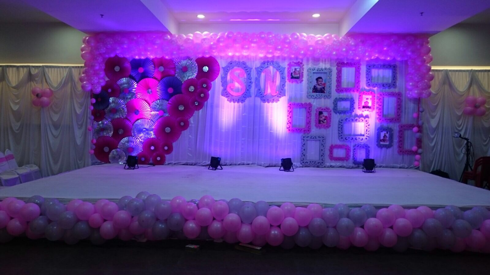 92 1st birthday party stage decorations first birthday